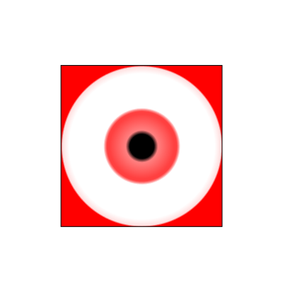 Download free red eye icon