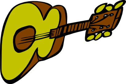 Download free music instrument guitar icon