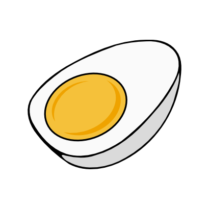 Download free yellow food egg icon