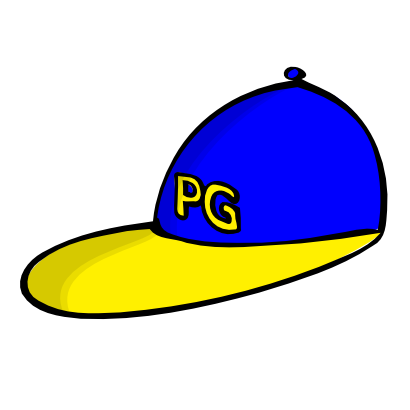 Download free yellow blue clothing cap icon