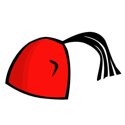 Download free red hat clothing icon