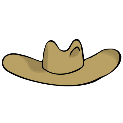 Download free brown hat clothing icon