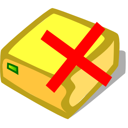 Download free red cross computer disk icon
