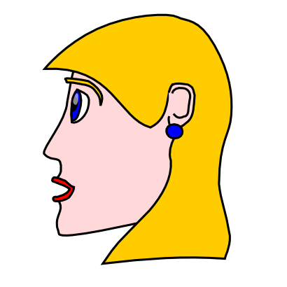 Download free head face woman icon
