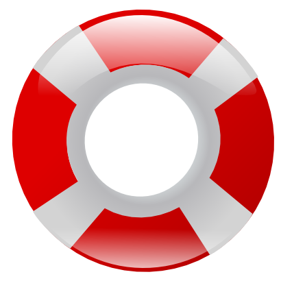Download free red buoy icon