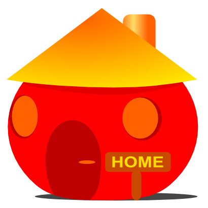 Download free face smiley house icon