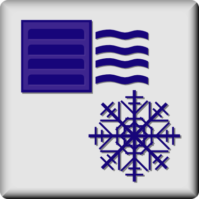 Download free snow heat icon