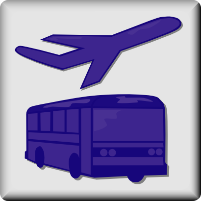 Download free transport plane bus motorbus icon