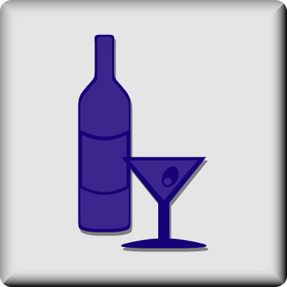 Download free food drink glass wine icon