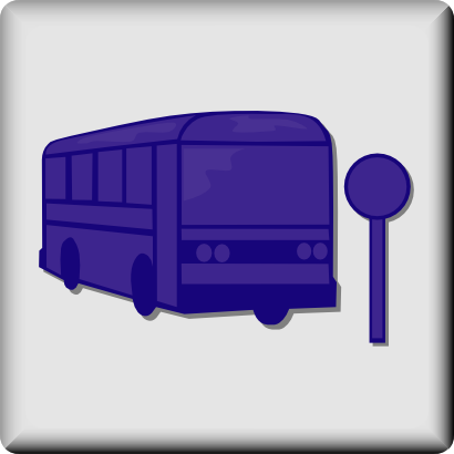 Download free transport bus motorbus panel icon