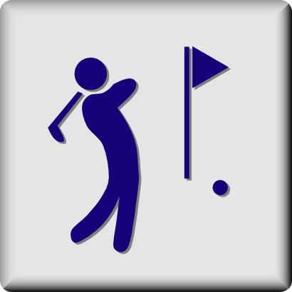Download free flag human golf sport icon