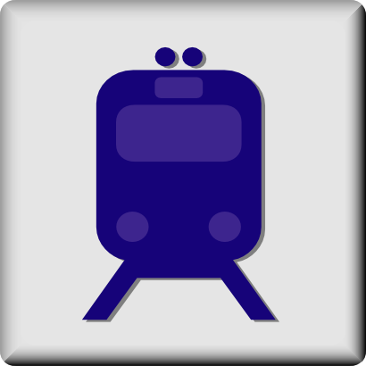 Download free transport train streetcar icon