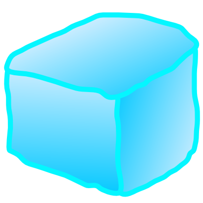 Download free food frozen water ice cube icon