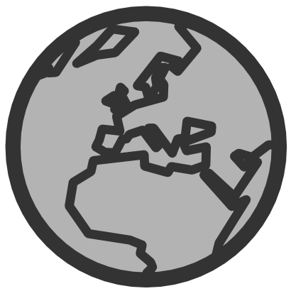 Download free internet earth africa europe planet icon