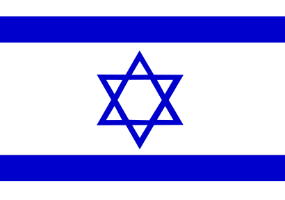 Download free flag israel country icon