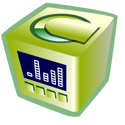 Download free computer server data processing icon