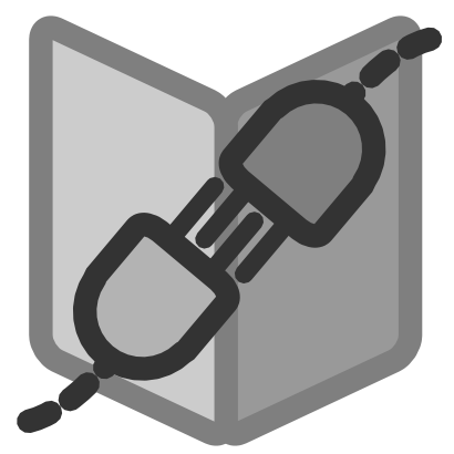 Download free grey book plug electric electricity icon