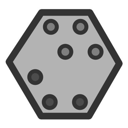 Download free grey dot mathematical icon