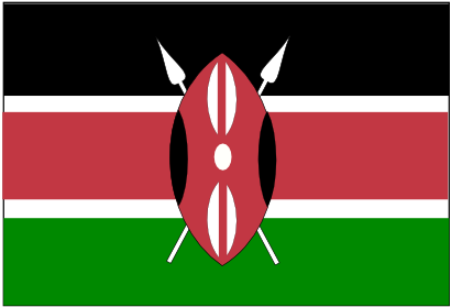 Download free flag kenya africa country icon