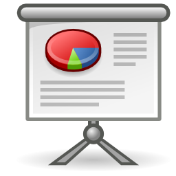 Download free office presentation icon