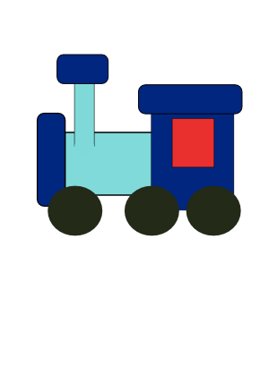 Download free transport train icon