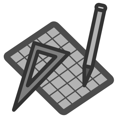 Download free try square pencil grey mathematical icon