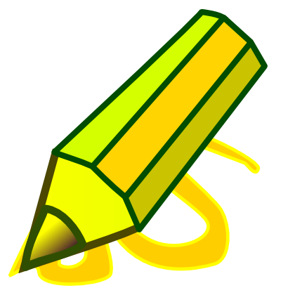 Download free yellow pencil icon