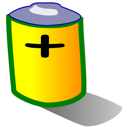Download free battery pile icon