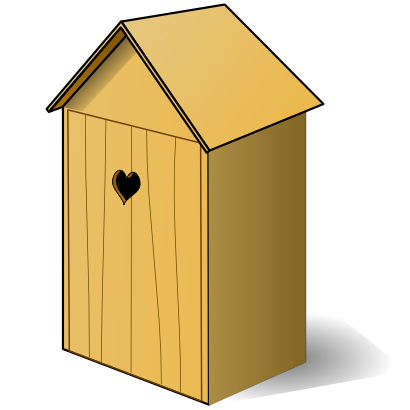 Download free wood building hut icon