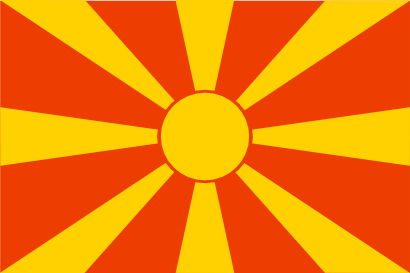 Download free flag macedonia country europe icon