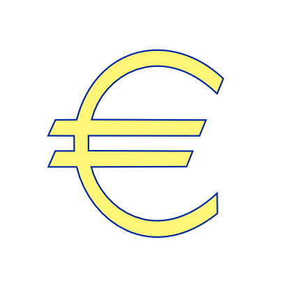 Download free symbol currency europe icon