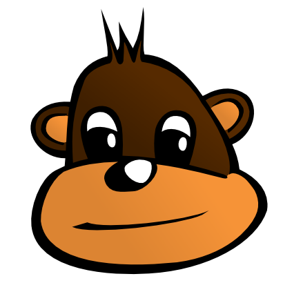 Download free head animal monkey icon