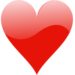 Download free card heart symbol icon
