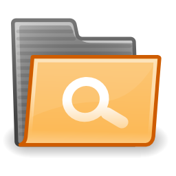 Download free folder save record search icon