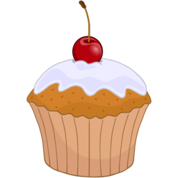 Download free food cake cherry frozen fruit icon
