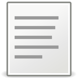Download free sheet left format align icon