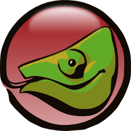 Download free animal galleon cameleon icon