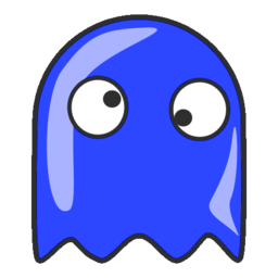 Download free blue ghost icon