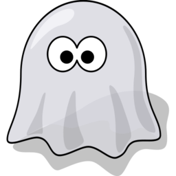 Download free grey ghost icon