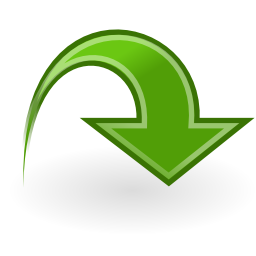 Download free arrow green icon