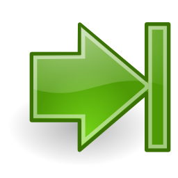 Download free arrow right green icon