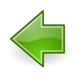 Download free arrow green left icon