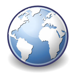 Download free internet earth navigator icon