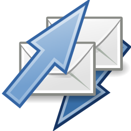 Download free email message courier mail envelope send receive icon