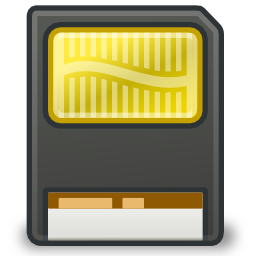 Download free card media memory flash icon