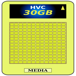 Download free card media memory icon