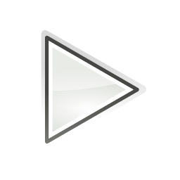 Download free grey arrow right media play read icon