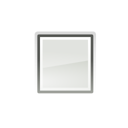 Download free grey square media stop icon