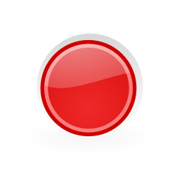 Download free red round icon