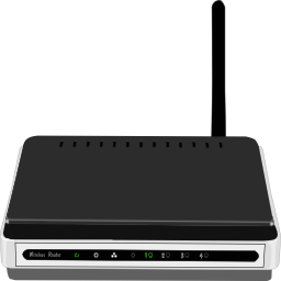 Download free network wireless wifi router wave icon
